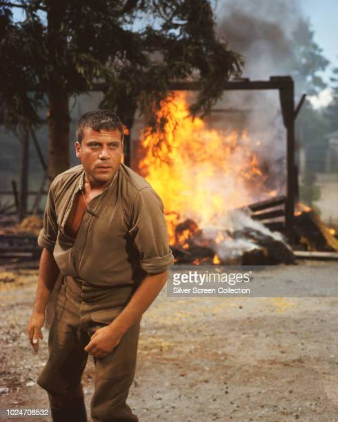 English actor Oliver Reed plays the title role in the war film 'Hannibal Brooks' 1969