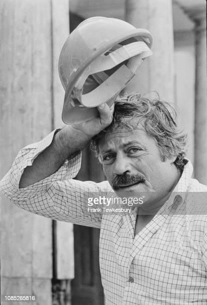 English actor Oliver Reed UK 1st September 1980