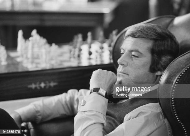 English actor Oliver Reed UK 3rd August 1977