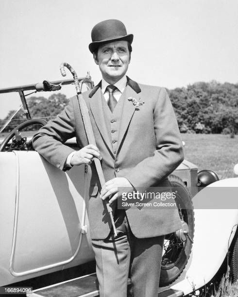 English actor Patrick Macnee as John Steed in the TV series 'The Avengers' circa 1965