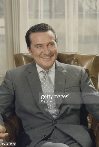 English actor Patrick Macnee pictured in his role as 'John Steed' from the television series 'The Avengers' in 1968.