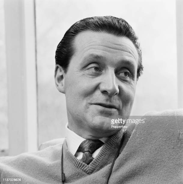 English actor Patrick Macnee , who plays the character of John Steed in the television series 'The Avengers', pictured at home in May 1964.