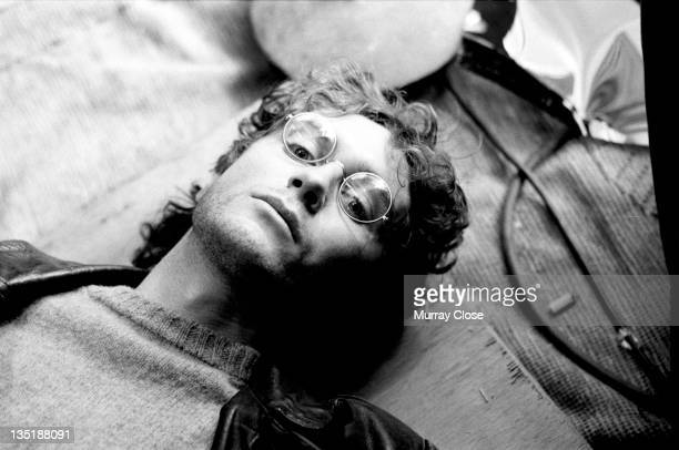 English actor Paul McGann during the filming of 'Withnail I' 1986