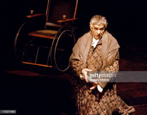 English actor Paul Scofield as Antonio Salieri in Peter Shaffer's play 'Amadeus' at the Royal National Theatre in London 1979 The production was...