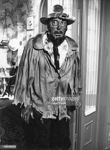 English actor Peter Sellers disguised as artist Henri de ToulouseLautrec in a scene from the film 'Revenge of the Pink Panther' 1978