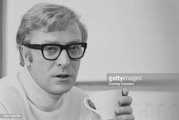 English actor, producer, and author Michael Caine, UK, 30th September 1968.
