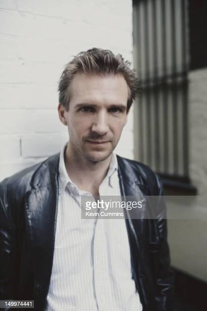 English actor Ralph Fiennes circa 1995