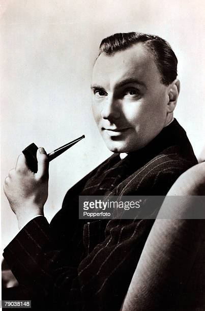 Cinema Personalities circa 1940s British actor Ralph Richardson portrait who had a long and illustrious film career He often played eccentrics in his...