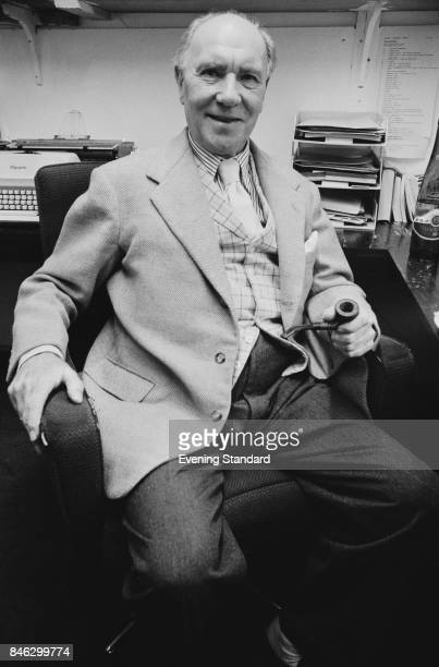 English actor Ralph Richardson UK 3rd January 1975