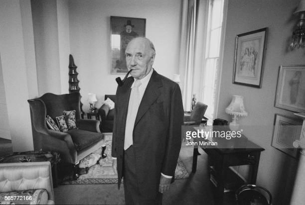 English actor Ralph Richardson UK 4th August 1978