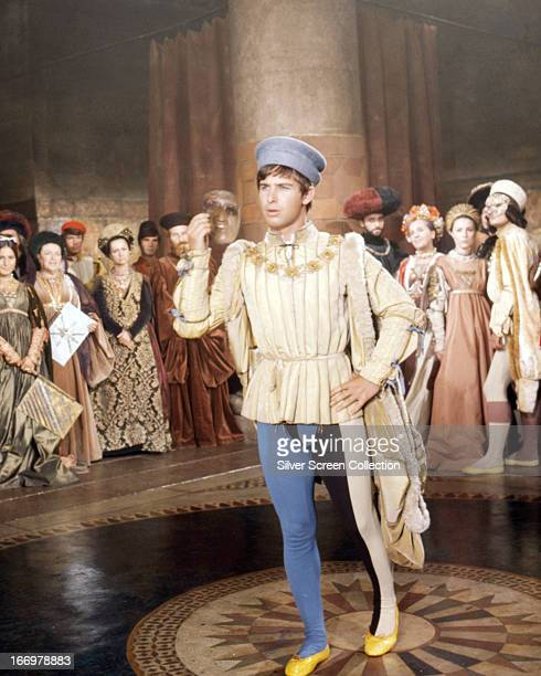 English actor Richard Warwick as Gregory in 'Romeo and Juliet' directed by Franco Zeffirelli 1968