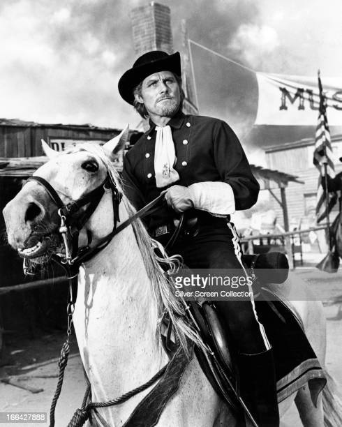 English actor Robert Shaw as General George Armstrong Custer in 'Custer Of The West' directed by Robert Siodmak 1967