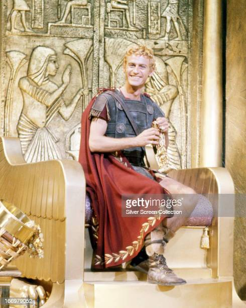 English actor Roddy McDowall as Octavian/Ceasar Augustus in 'Cleopatra' directed by Joseph L Mankiewicz 1963
