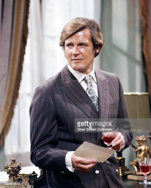 English actor Roger Moore in an episode of the TV series 'The Persuaders' circa 1971