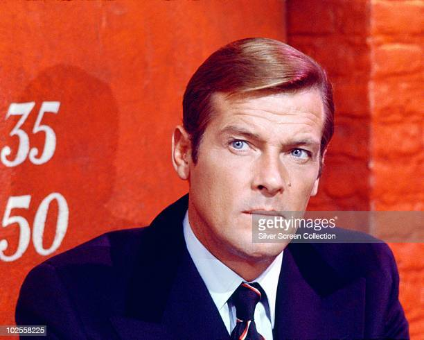 English actor Roger Moore stars in the James Bond film 'Live And Let Die' 1973