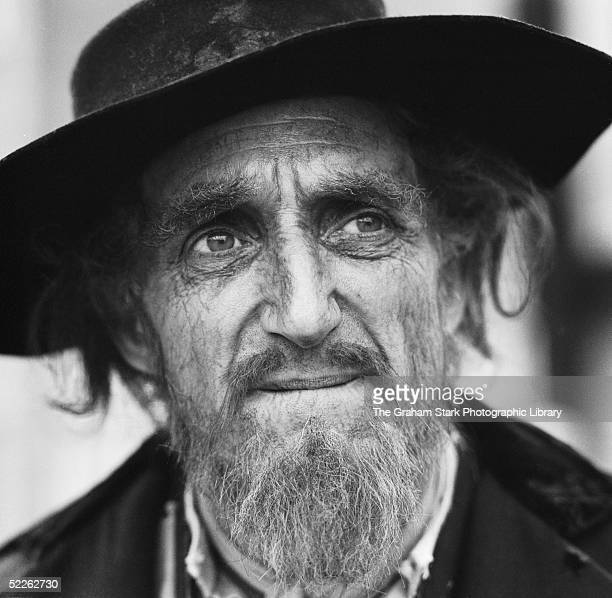 English actor Ron Moody at Shepperton Studios, in costume for his role as Fagin in 'Oliver', directed by Carol Reed, 1968.