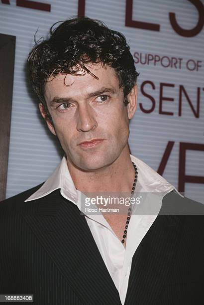 English actor Rupert Everett attends IFFP Presents Yves Saint Laurent Forty Years of Creation in New York City 1998