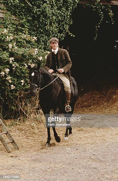 English actor Sean Bean as Farmer Grey in the film 'Black Beauty' 1994