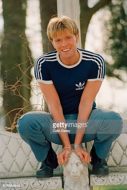 English actor singer and television presenter Darren Day UK 28th February 1996