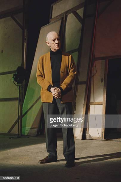 English actor Sir Alec Guinness circa 1980