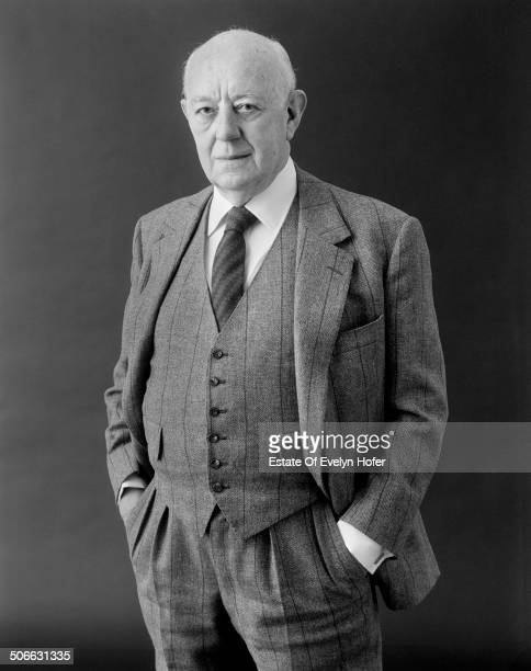 English actor Sir Alec Guinness London 1986