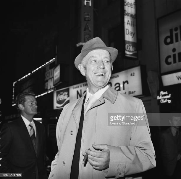 English actor Sir Alec Guinness , London, UK, 11th May 1973. He is starring as Arthur Wicksteed in the play 'Habeas Corpus' by Alan Bennett, at the...