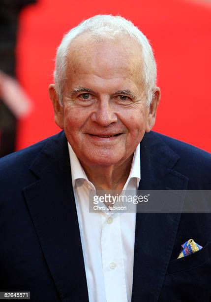 English actor Sir Ian Holm arrives at the World Premiere of 'The Duchess' at Odeon Leicester Square on September 3 2008 in London England