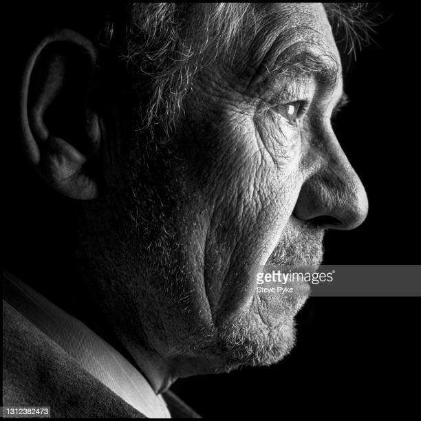 English actor Sir Ian McKellen, London, 16th May 2004. P