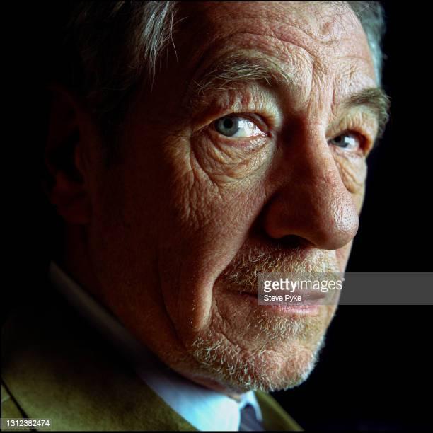 English actor Sir Ian McKellen, London, 16th May 2004.