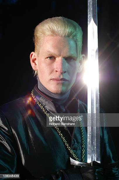 English actor Thom Fell as Cardinal Giovanni in a publicity still for the film 'Highlander The Source' 2007