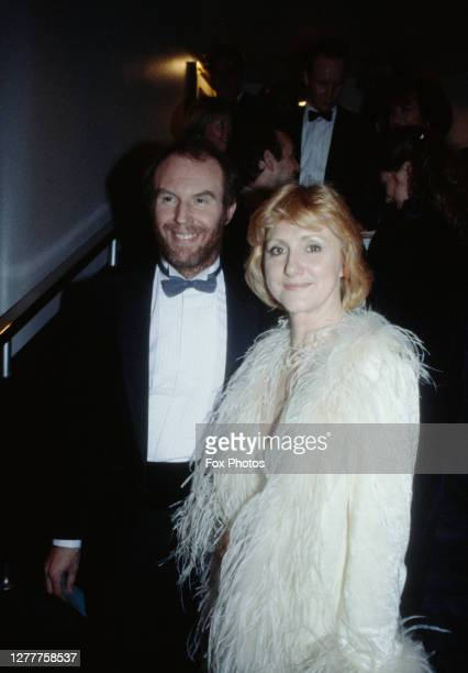 English actor Tim Pigott-Smith and his wife Pamela at the BAFTA Awards at the Grosvenor House Hotel in London, 5th March 1985.
