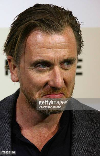 English actor Tim Roth poses during Youth Without Youth photocall at the second annual film festival 20 October 2007 in Rome Youth Without Youth...