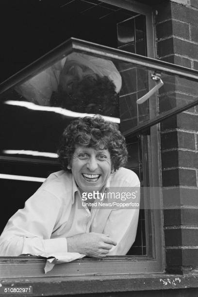 English actor Tom Baker who plays The Doctor in the television science fiction series Doctor Who posed in London on 3rd October 1979