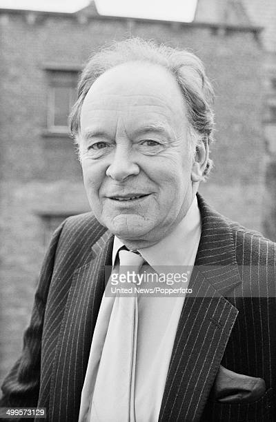 English actor Tony Britton in London on 8th March 1984