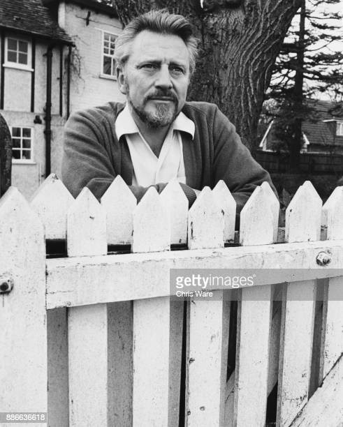 English actor William Lucas at his farmhouse in Hertfordshire UKMarch 1973 He stars in the television series 'The Adventures of Black Beauty' as...