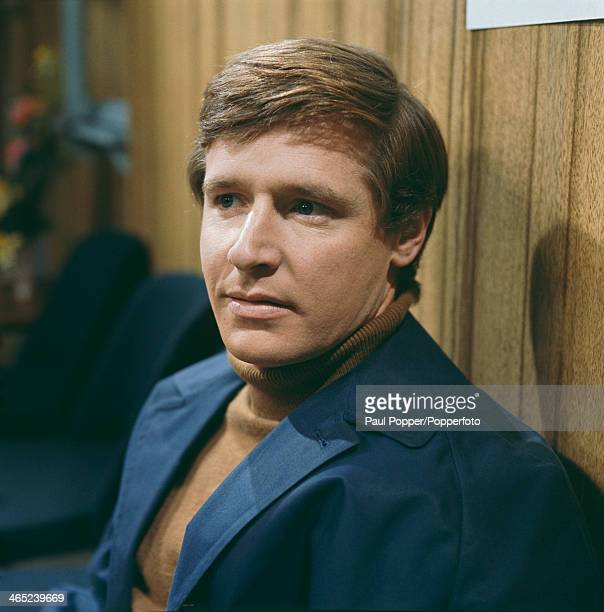 English actor William Roache on the set of the Granada TV soap opera 'Coronation Street' Manchester 1968 Roache plays Ken Barlow in the series