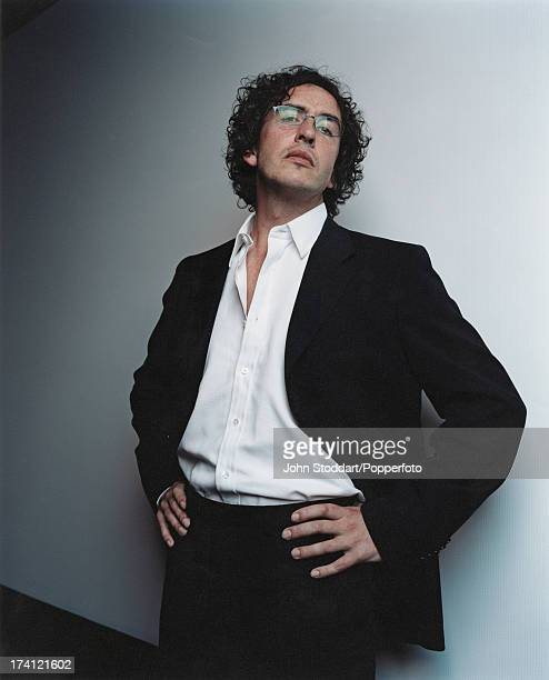 English actor writer and comedian Steve Coogan circa 2000
