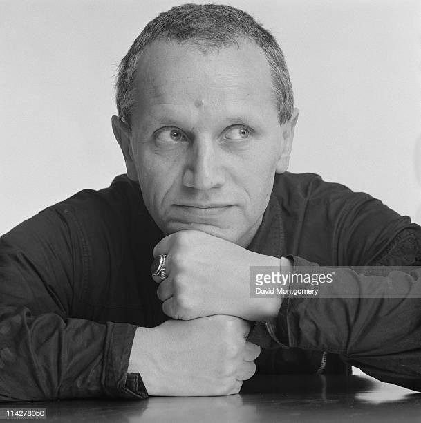 English actor writer and director Steven Berkoff circa 1980