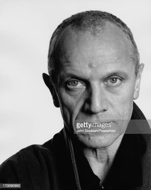 English actor writer and director Steven Berkoff circa 1995