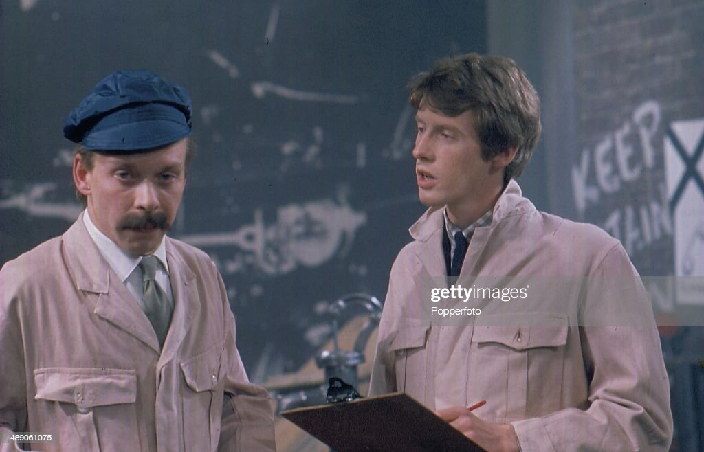 Brian Murphy And Michael Crawford : News Photo