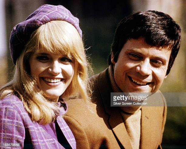 English actors Carol White as Georgina Elben, and Oliver Reed as Andrew Quint, in 'I'll Never Forget What's'isname', directed by Michael Winner, 1967.