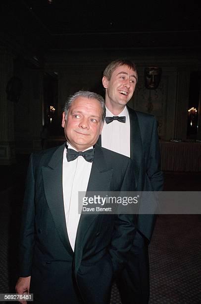 English actors David Jason and Nicholas Lyndhurst circa 1993