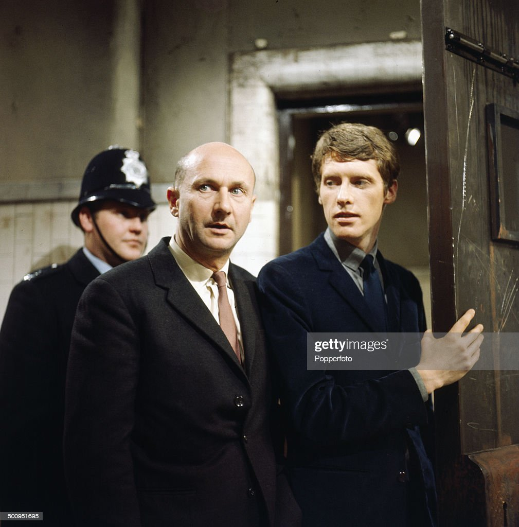 Donald Pleasence And Michael Crawford : News Photo