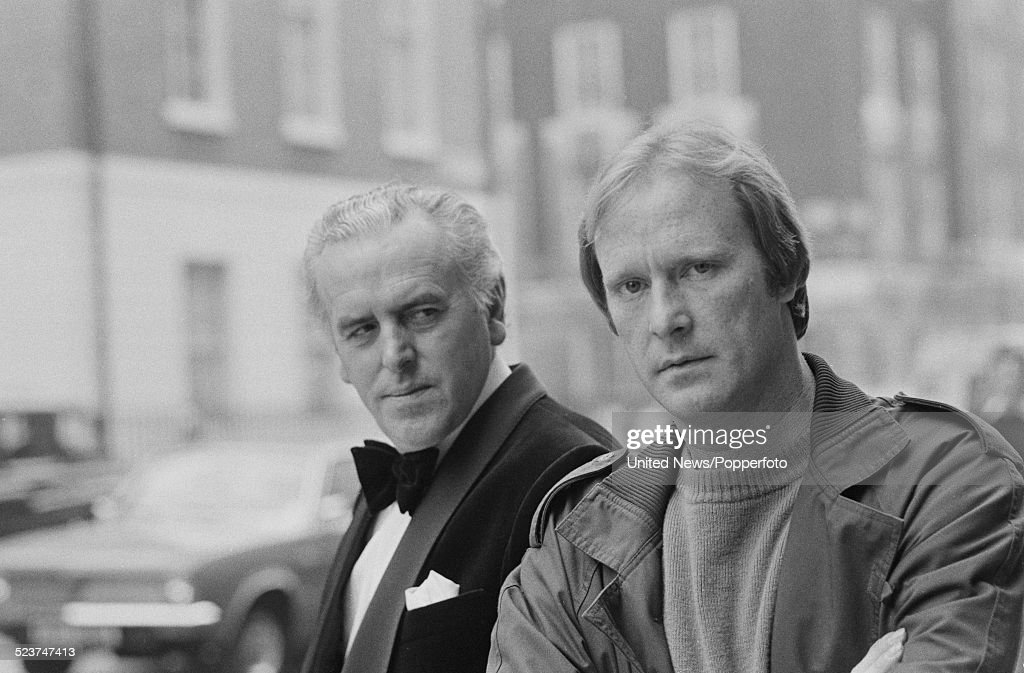 George Cole And Dennis Waterman : News Photo