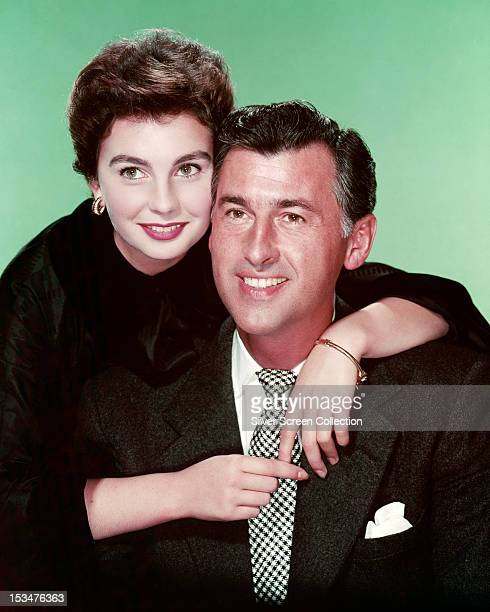 English actors Jean Simmons and Stewart Granger circa 1955