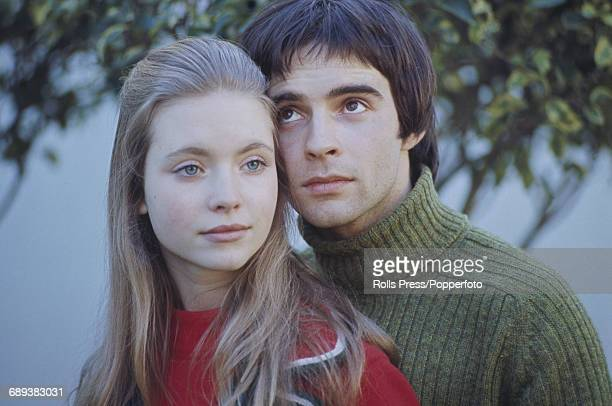 English actors Judi Bowker and Graham Faulkner pictured together during production of the film 'Brother Sun Sister Moon' in Rome Italy on 11th...