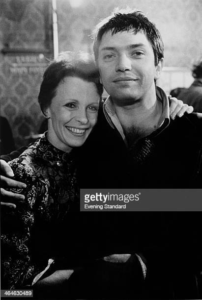 English actors Martin Shaw and Claire Bloom 14th March 1974 They are starring in Edwin Sherin's revival of 'A Streetcar Named Desire' at the...