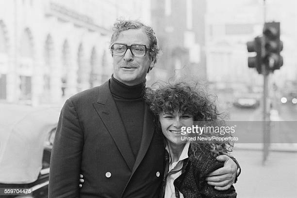English actors Michael Caine and Julie Walters who play the characters of Professor Frank Bryant and Susan White in the film 'Educating Rita'...