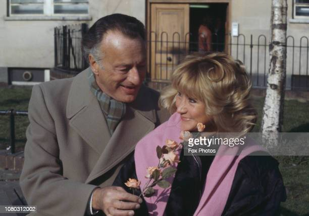 English actors Paul Eddington and Felicity Kendal who are set to costar in a new production of the Tom Stoppard play 'Jumpers' 1985 The two...