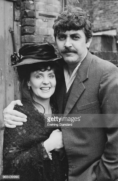 English actors Pauline Collins and John Alderton as 'Thomas Sarah' British drama series that aired on ITV UK 12th January 1979